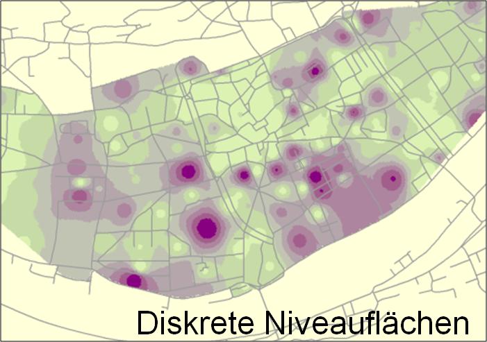 diskrete-niveauflächen