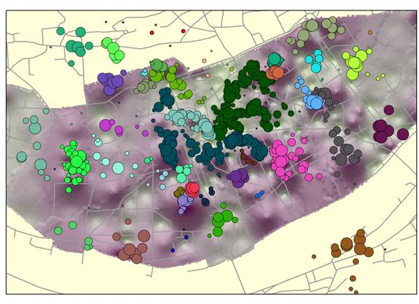 Schattierung cluster 2